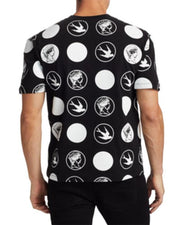 Hip-hop All Over Print Short Sleeve Loose T-shirt