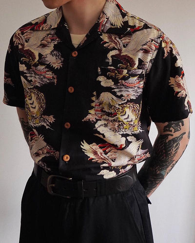 Print Short Sleeve Shirts