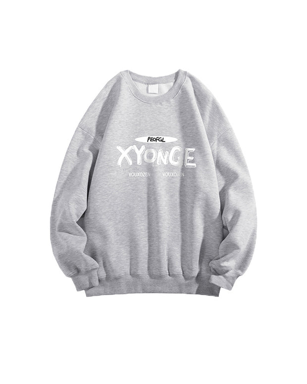 Letter Print Long Sleeve T-shirts