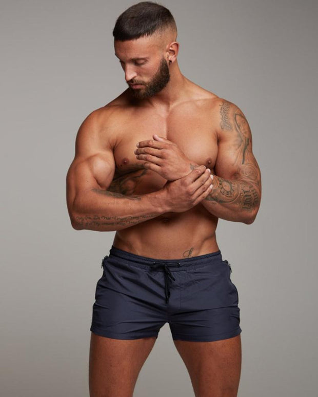 Solid Drawstrng Loose Sporty Shorts
