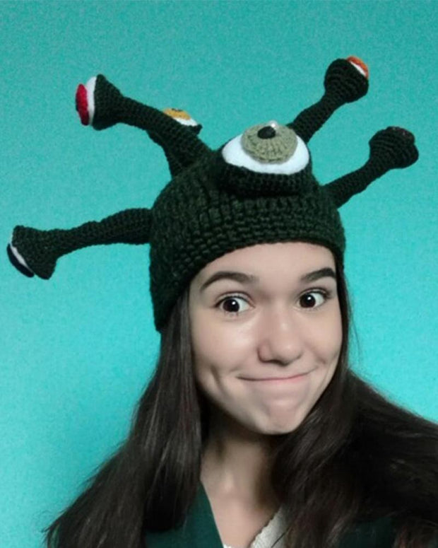 Cute Cartoon Octopus Knit Hat