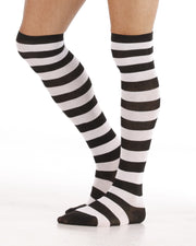 Zebra Striped Long Stockings