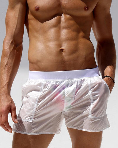 Casual Solid Color Straight Short Pants