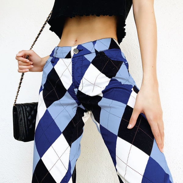 LOW WAIST 90's STYLE PANTS