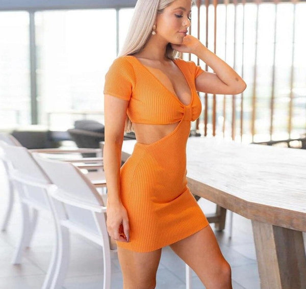 THREE-DIMENSIONAL MINI DRESS