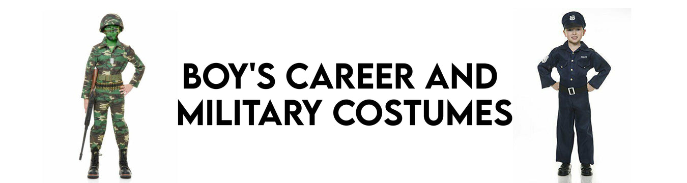 Boy's Career and Military Costumes