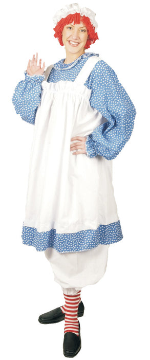 Women's Plus Size Raggedy Ann Costume