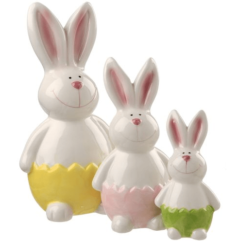 "9"", 7"" & 5"" Rabbit Set - Holiday-Outfitters"