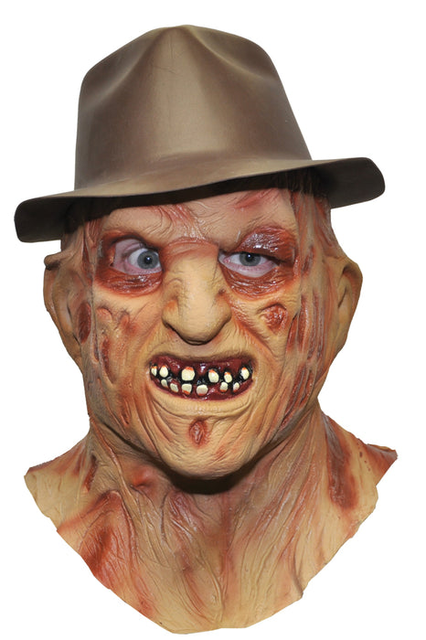 Freddy Krueger Latex Mask & Hat