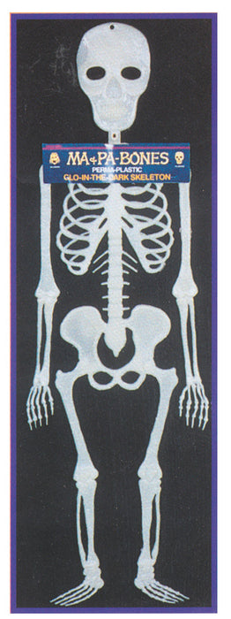 Glow-in-the-Dark Papa Bones Skeleton