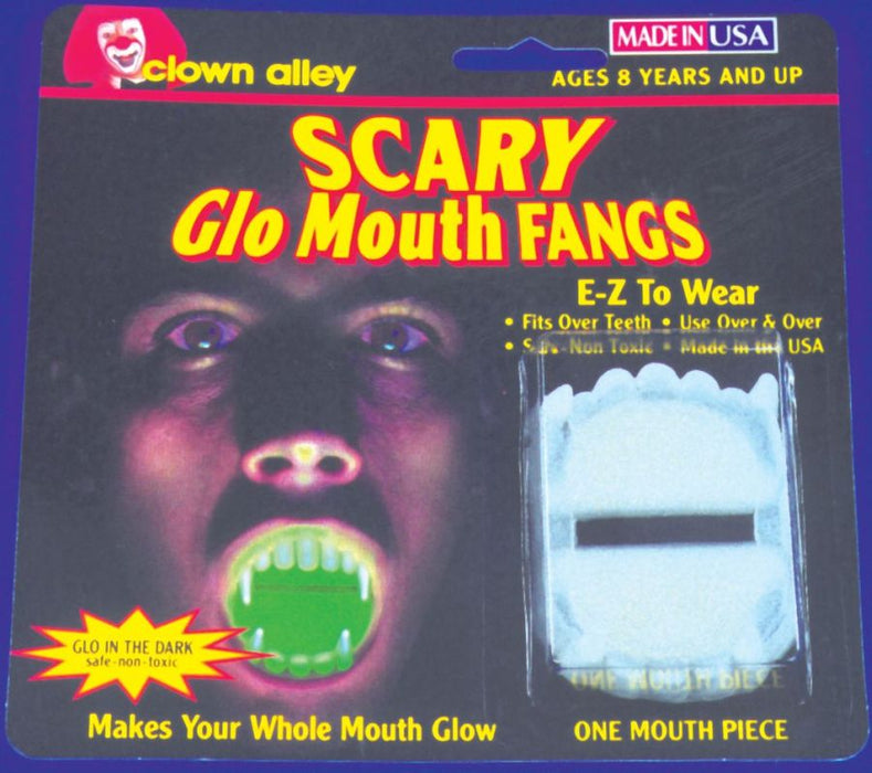 Glow-in-the-Dark Fangs