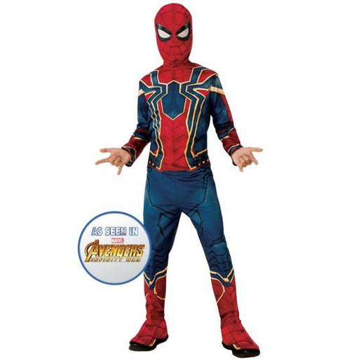 Boys Avengers: Endgame Iron Spider Costume (Small) - Holiday-Outfitters