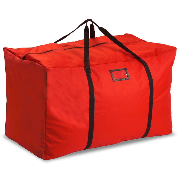 National Tree Company - Red Multi Purpose Large Holiday Storage Bag