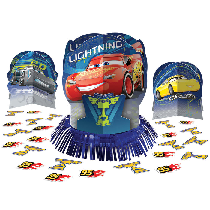 Disney Cars 3 Table Decor Kit