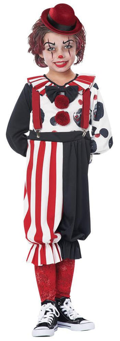 Kreepy Klown Kid Toddler Costume - Holiday-Outfitters