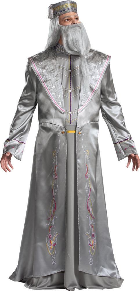 Men's Dumbledore Deluxe Costume - Holiday-Outfitters
