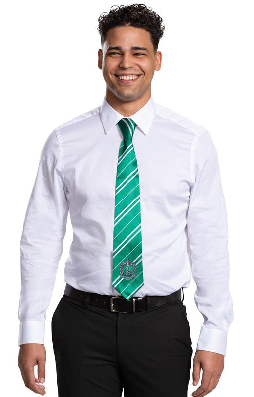 Slytherin Tie - Adult - Holiday-Outfitters