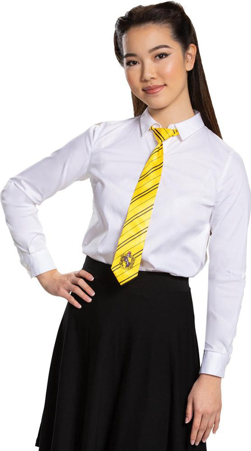 Hufflepuff Tie - Adult - Holiday-Outfitters