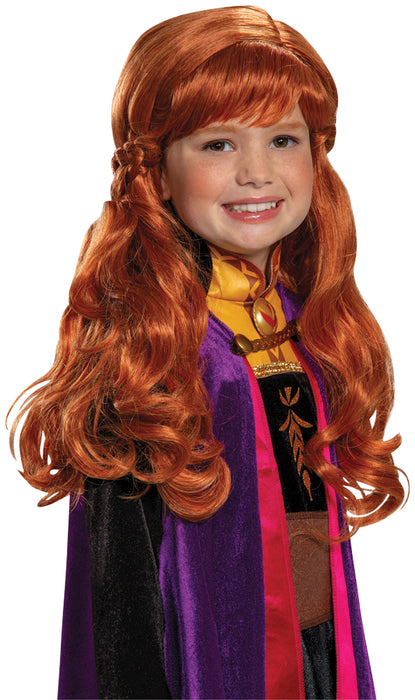 Girl's Anna Wig - Frozen 2