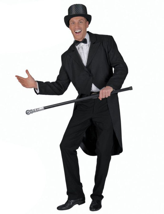 Black Tailcoat Adult Standard