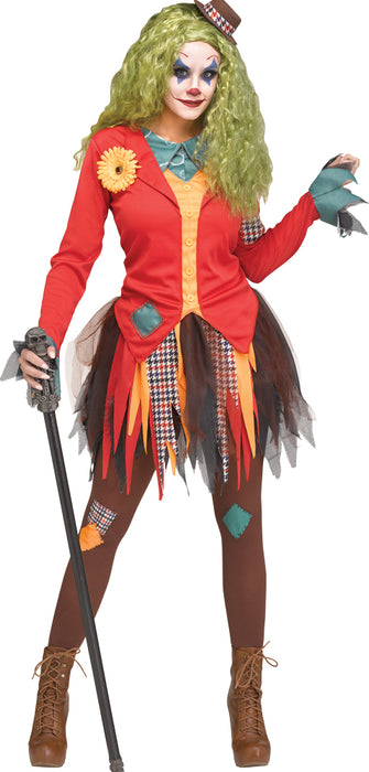 Women's Rowdy Clown Costume