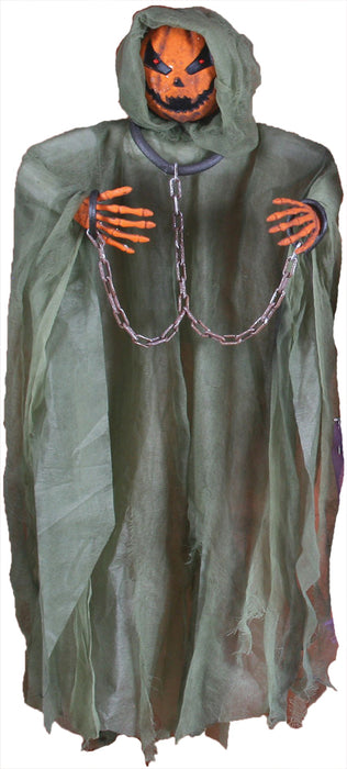 "36"" Pumpkin Hanging Figure"