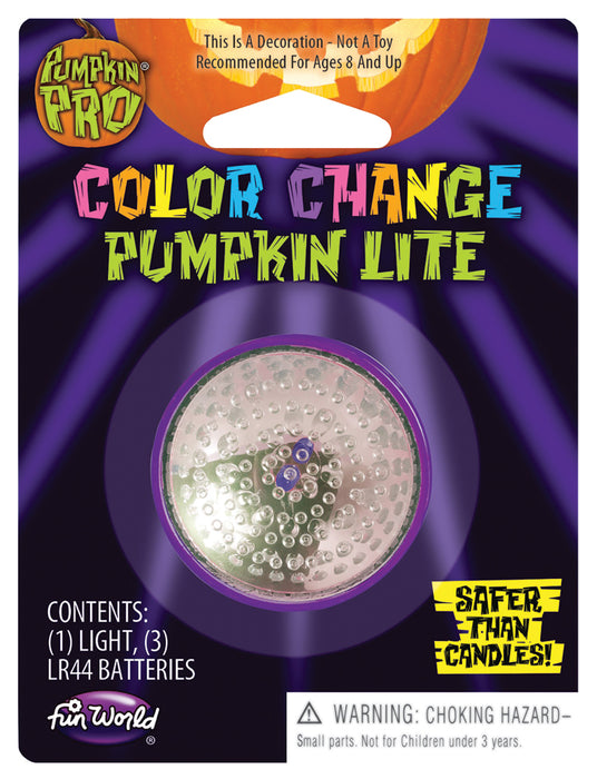 Color Change Pumpkin Light