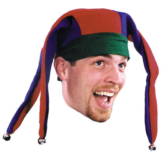Jester Hat with Bells Economy