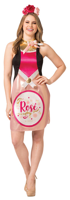 Women's Wine Dress - Rose`