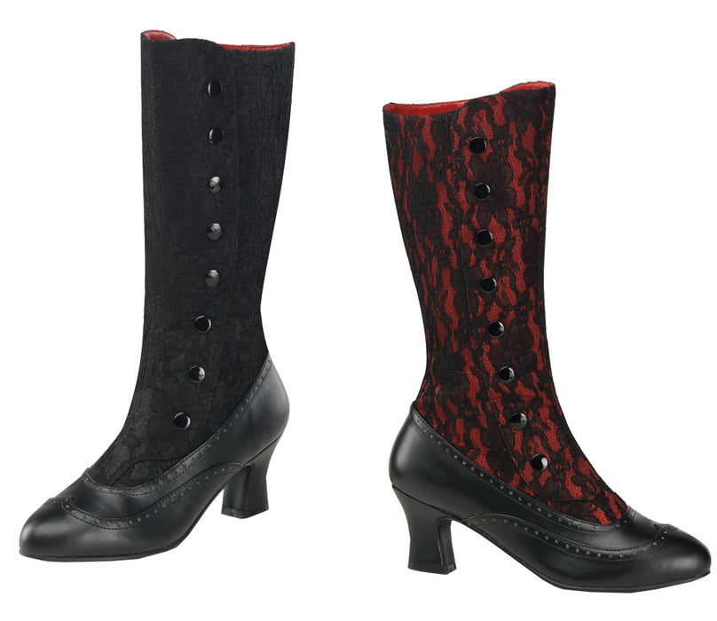 Women's Spooky Red Boot