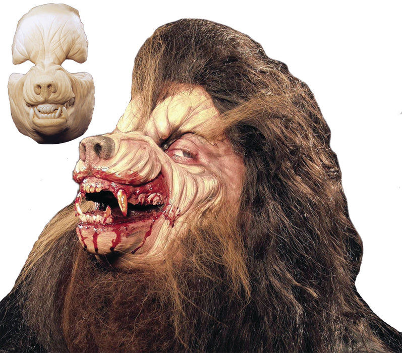 Werewolf Foam Latex Face