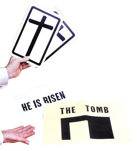 He Is Risen Stage Size