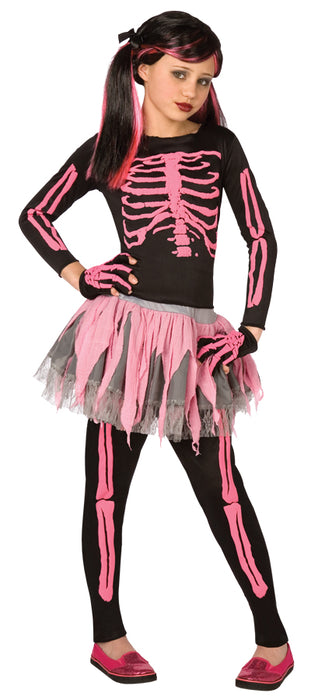 Skeleton Punk Pink