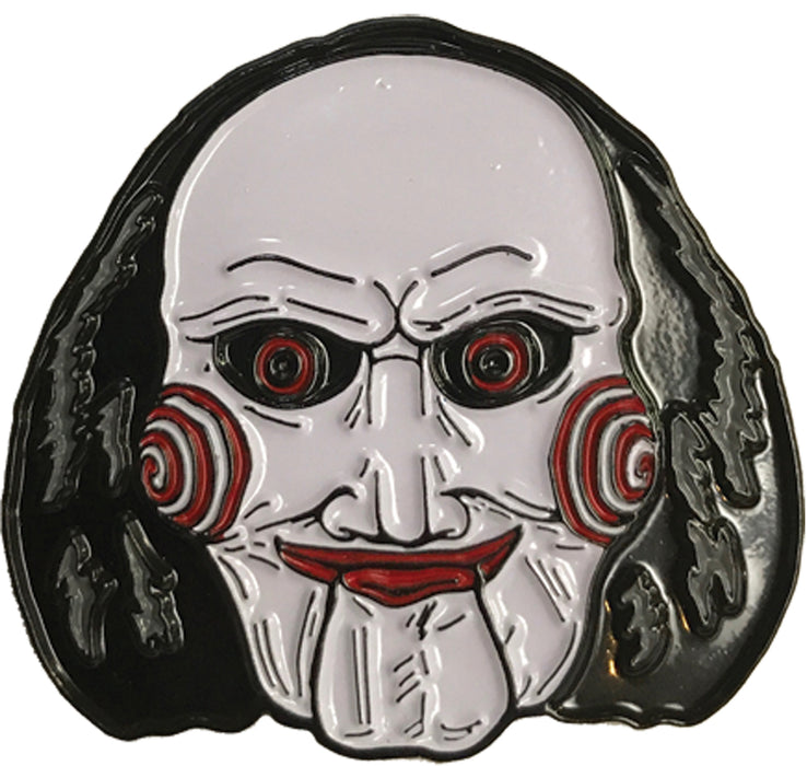 SAW BILLY PUPPET PIN