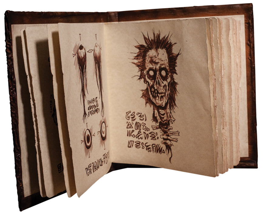 Book Of The Dead 'Necronomicon' Prop - Evil Dead 2 Dead By Dawn