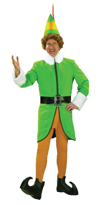 Men's Buddy The Elf Costume - Holiday-Outfitters