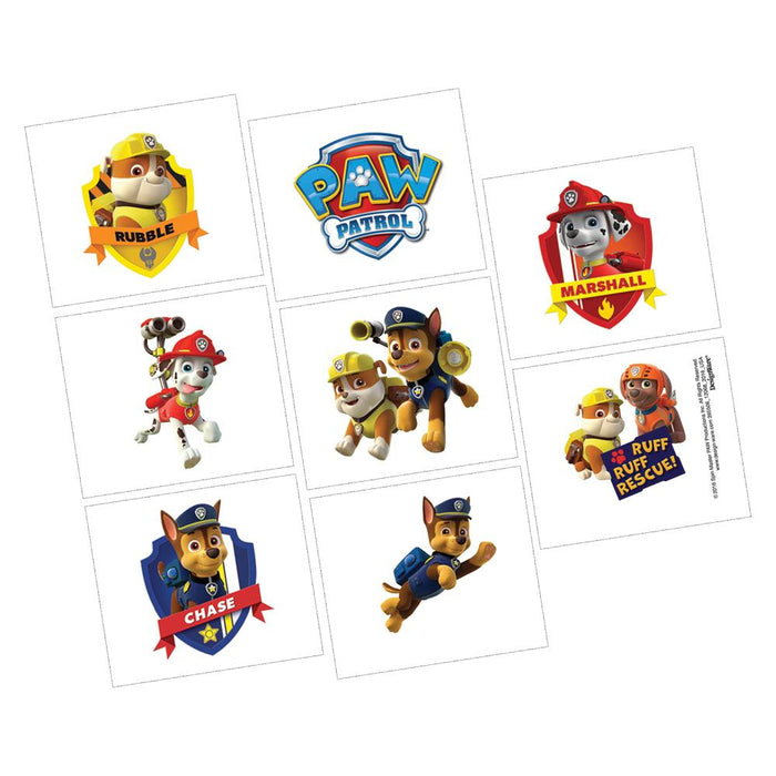 PAW Patrol Tattoos - Holiday-Outfitters