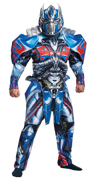 Men's Optimus Prime Deluxe Costume - Transformers Movie 5 - Holiday-Outfitters