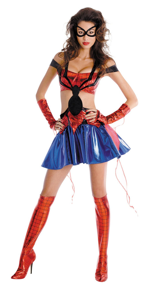 Women's Spider-Girl Prestige Costume - Holiday-Outfitters