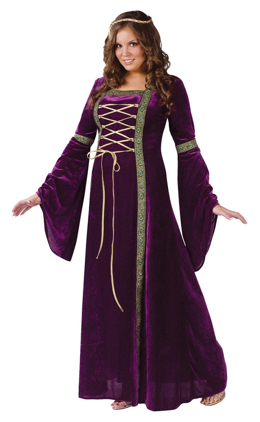 Plus Size Renaissance Lady Costume - Holiday-Outfitters