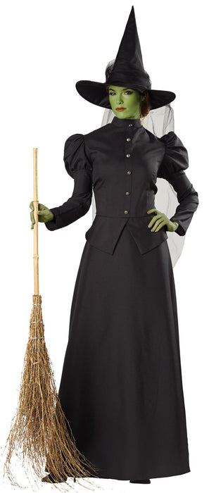 Women's Witch Classic Deluxe Costume - Holiday-Outfitters