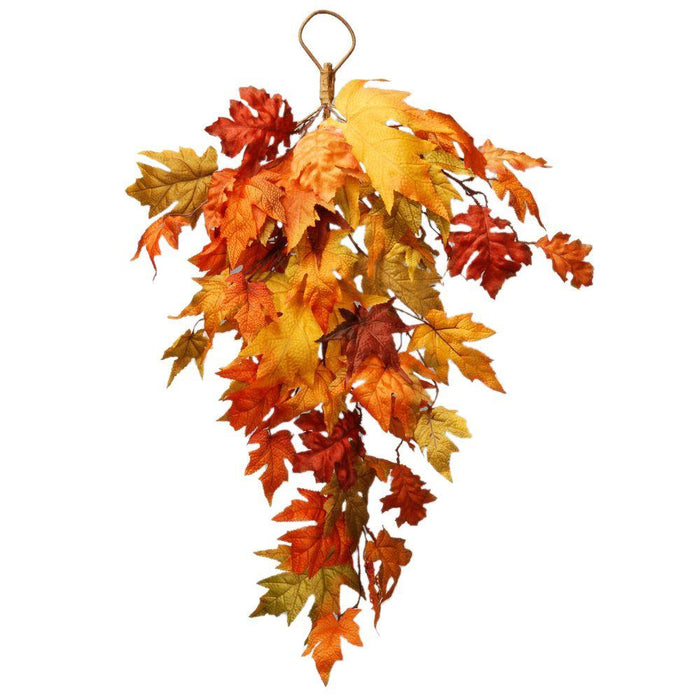 "Harvest Accessories-30"" Teardrop with Maple Leaves - Holiday-Outfitters"