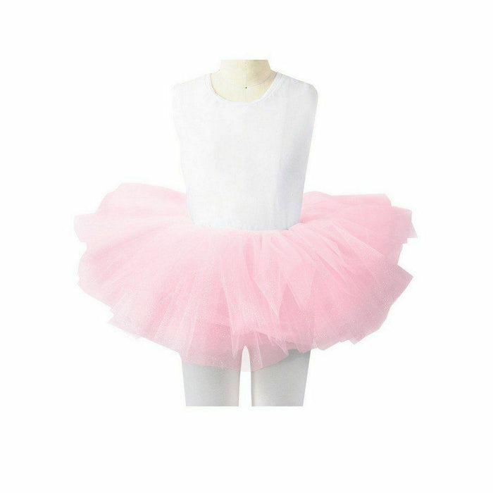 Child Light Pink Glitter Tutu(OS)
