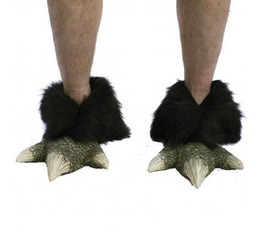 Dragon Feet Monster Lizard Reptile Claws Adult Shoe Covers Halloween Costume - Holiday-Outfitters
