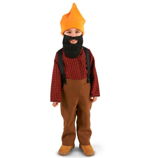 Bearded Baby Lumberjack Toddler Costume 2-4T - Holiday-Outfitters