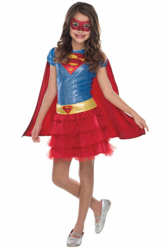 Supergirl Sequin Child Costume