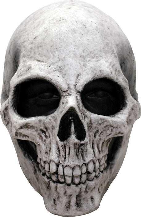White Skull Latex Mask - Holiday-Outfitters