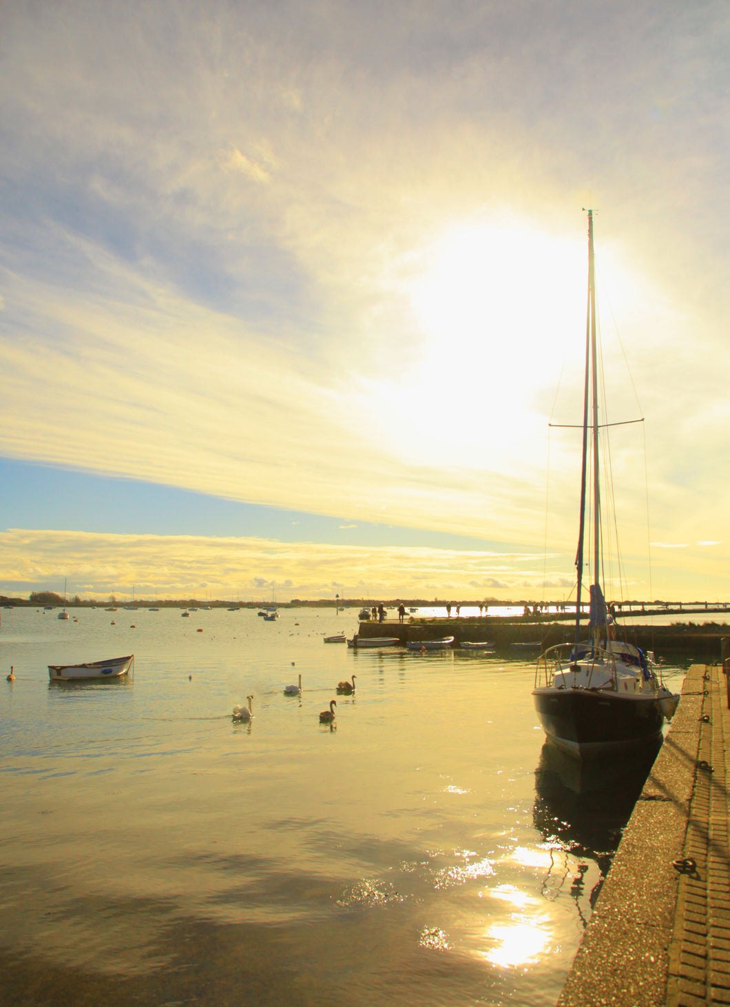 Emsworth Sunset Jigsaw