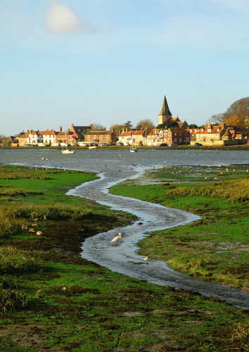 A jigsaw puzzle of Bosham harbour