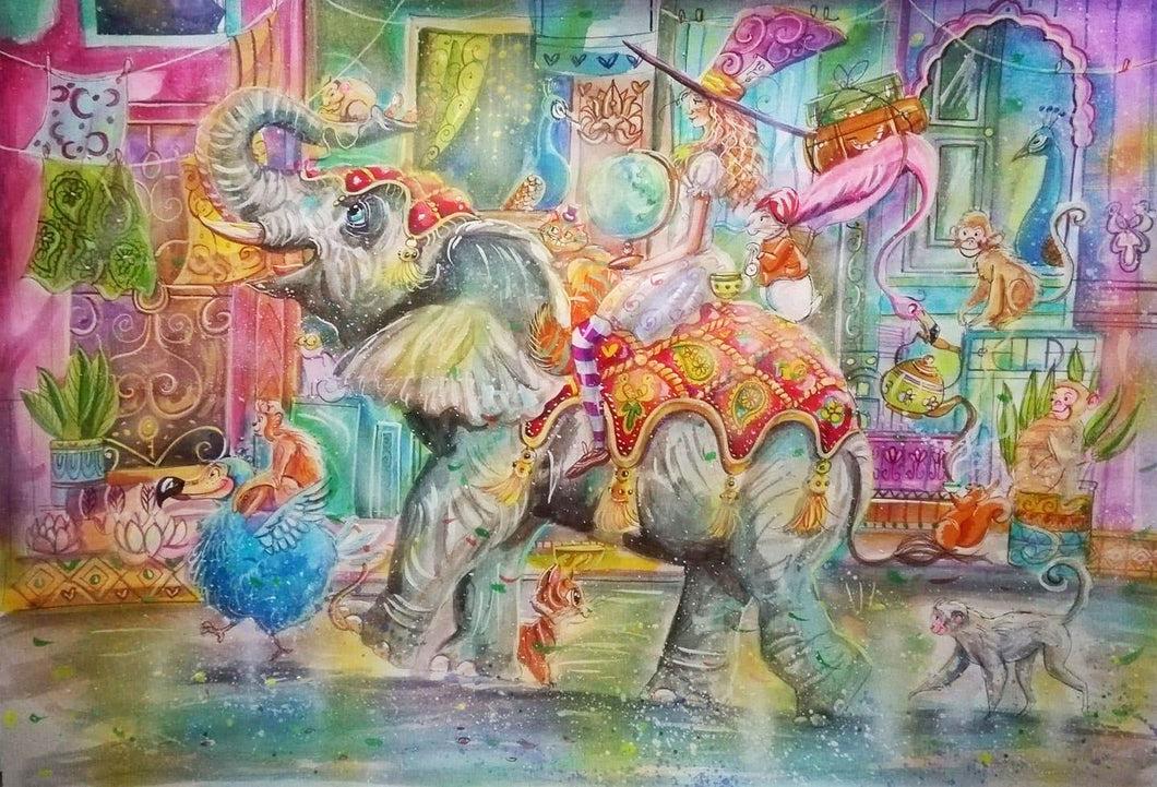 The Circus Elephant Jigsaw